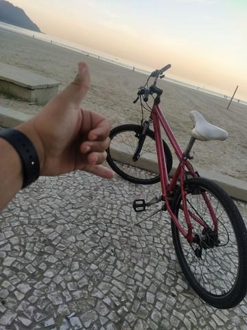 Bike gts alumínio aro 26 *aceito cartão*