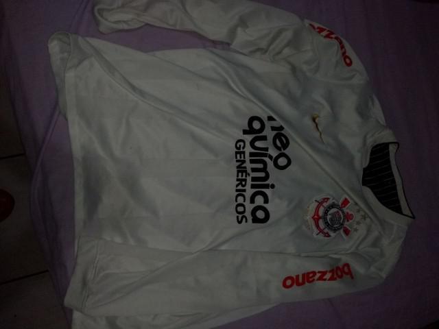 Camisa corinthians manga comprida, 2009