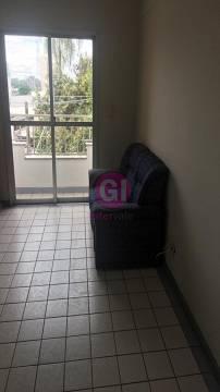 Locação / apartamento / mobiliado - sala - sacada -