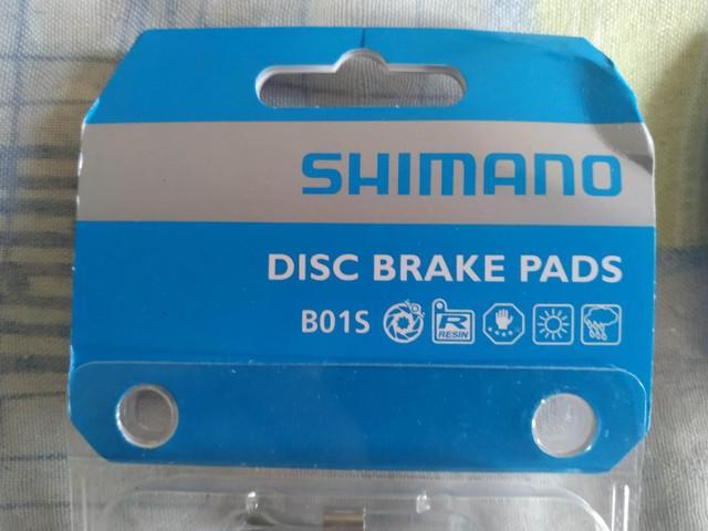 Pastilha de freio shimano b0s1