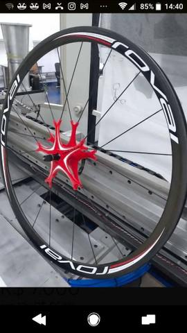 Rodas speed roval fusee star red clincher