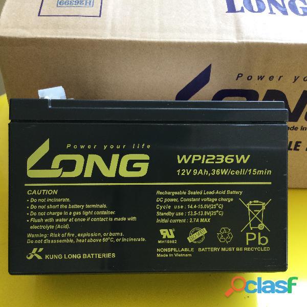 Bateria Long 12V 9ah para No Breaks (NOVA)