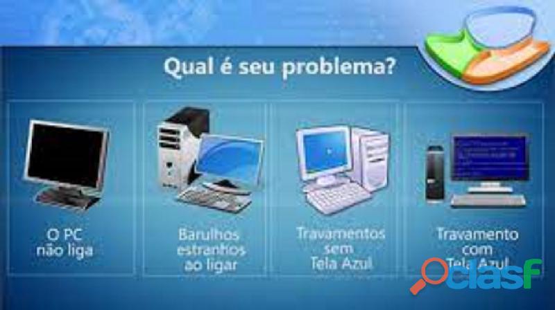 manutenção de computadores, recuperação de informações de HD