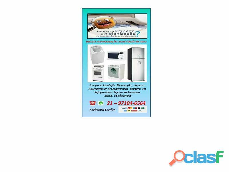 Manutenção e Higienização de Ar Condicionados