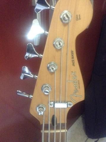Fender jazz bass mim deluxe