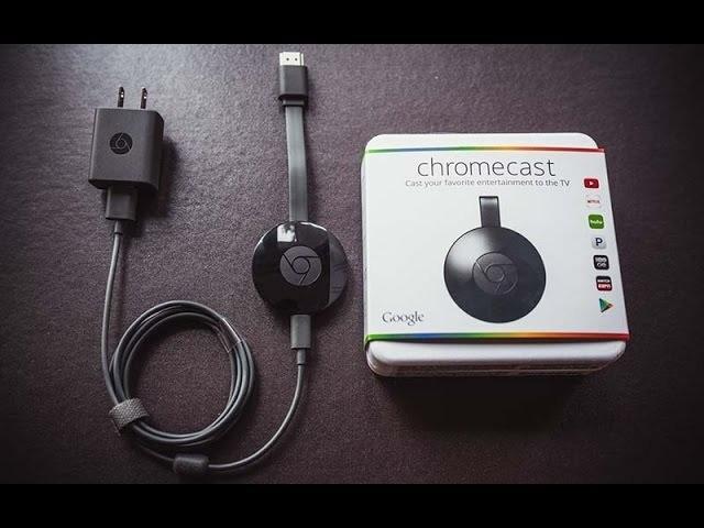 Google chromecast 2ª geração - full hd 256mb preto com