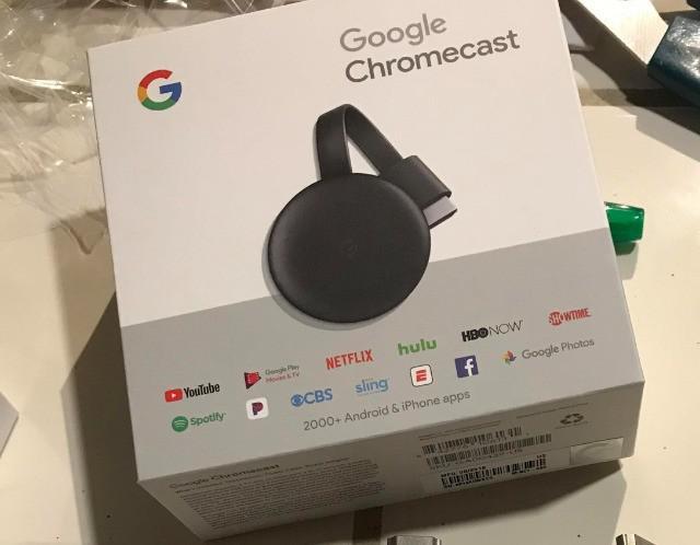Google chromecast 3ª geração - bonfim/campinas