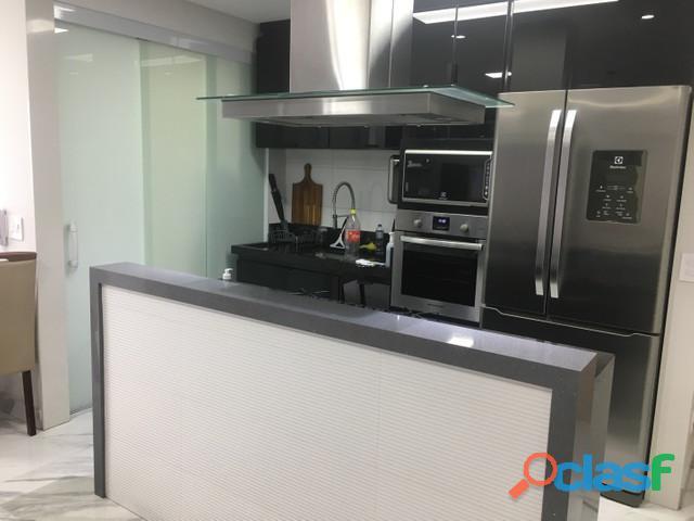 Apartamento 2 dormitórios 80 m² em santo andré   bairro santa terezinha. sala ampla 3 ambientes com