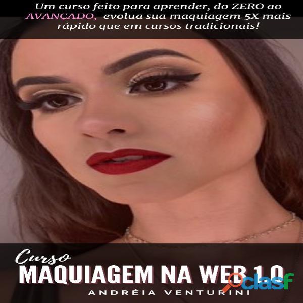 Curso maquiagem na web 2.0
