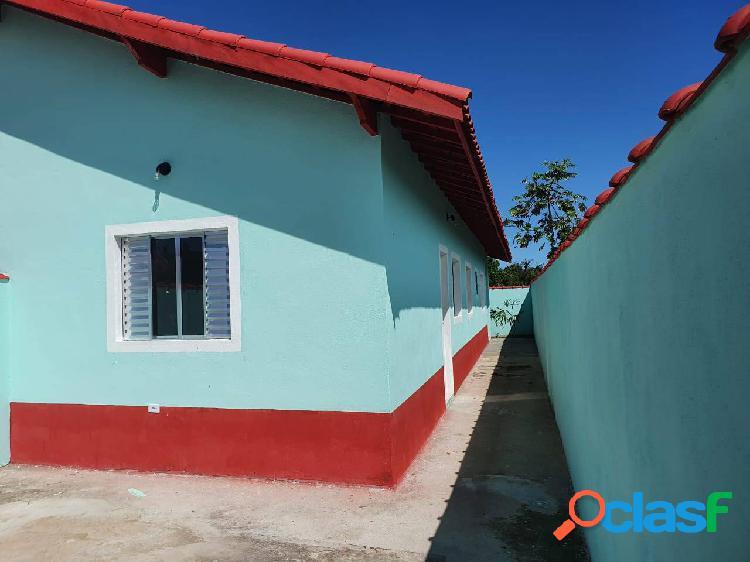 Oportunidade!! casa nova 2dormitórios r$170.000,00 em mongaguá