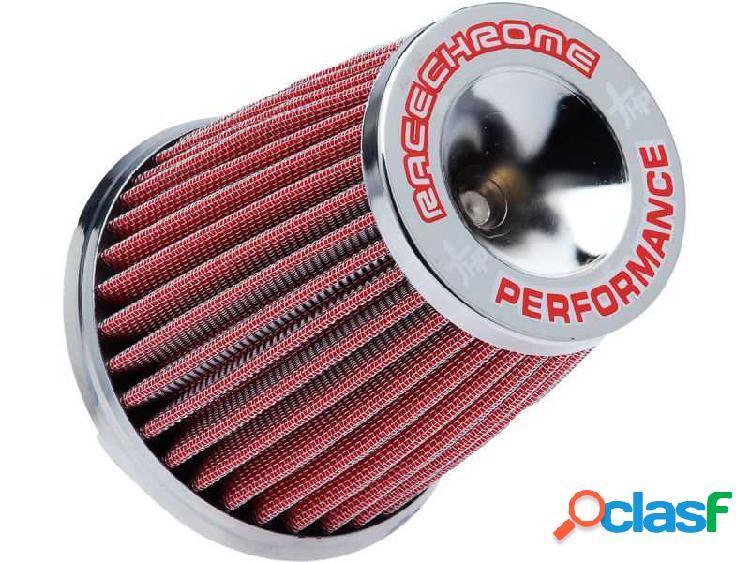Filtro de ar performance mono fluxo pequeno vermelho