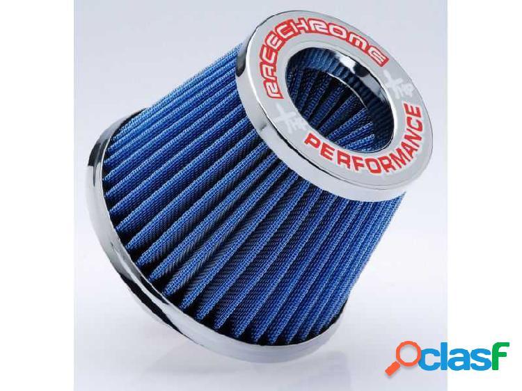 Filtro de ar performance duplo fluxo médio azul