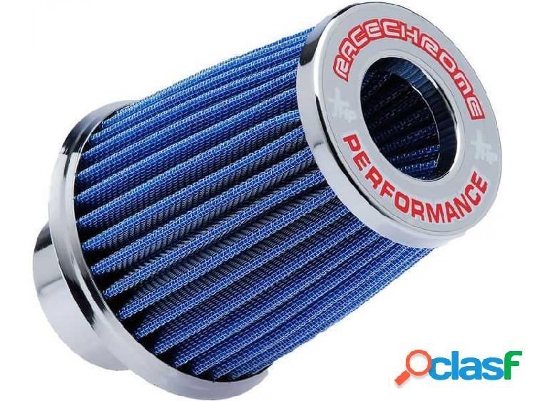 Filtro de ar performance duplo fluxo pequeno azul