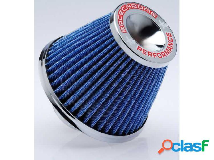 Filtro de ar performance mono fluxo médio azul