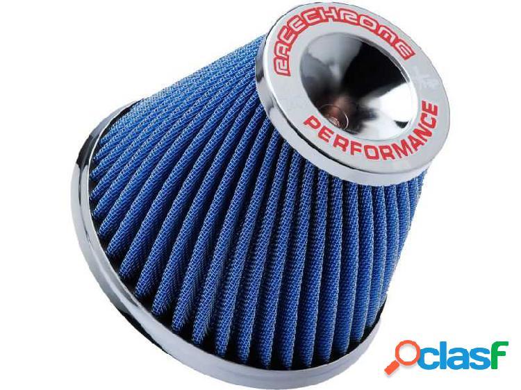 Filtro de ar performance twister mono fluxo médio azul