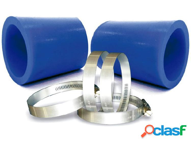 Kit mangote azul para instalação de filtros de ar esportivo