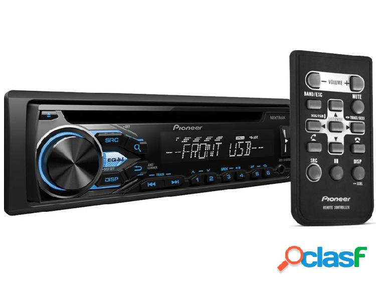 Cd player pioneer deh-x1880ub com interface android usb e aux