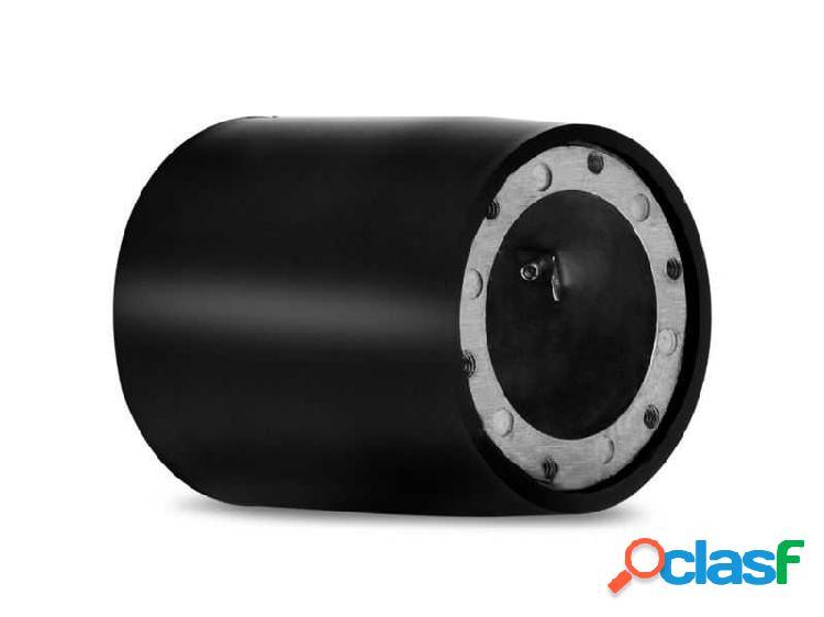 Cubo de volante com capa preta para fiat palio/idea/marea/stilo/brava/fiorino/doblo/novo uno