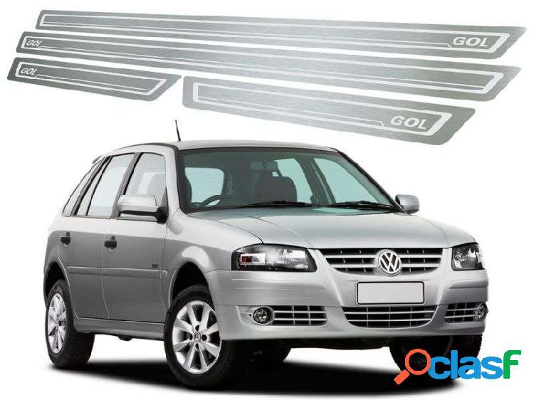 Soleira de Porta Volkswagen Gol G2 e G4 4P em Aço Inox Escovado – Modelo Standard
