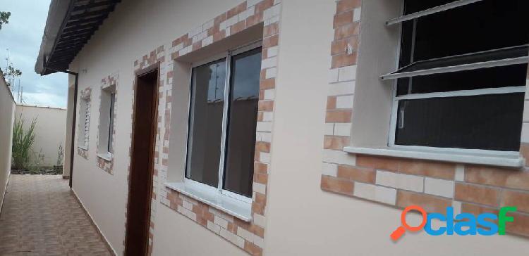 Casa nova=2 dorm=1suite=mat.de primeira=localização=comercio=itanhaém=s/p
