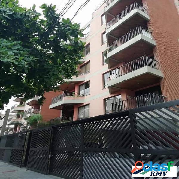 Apartamento 100m2 à venda - edif.saint thomas - praia enseada - guarujá/sp