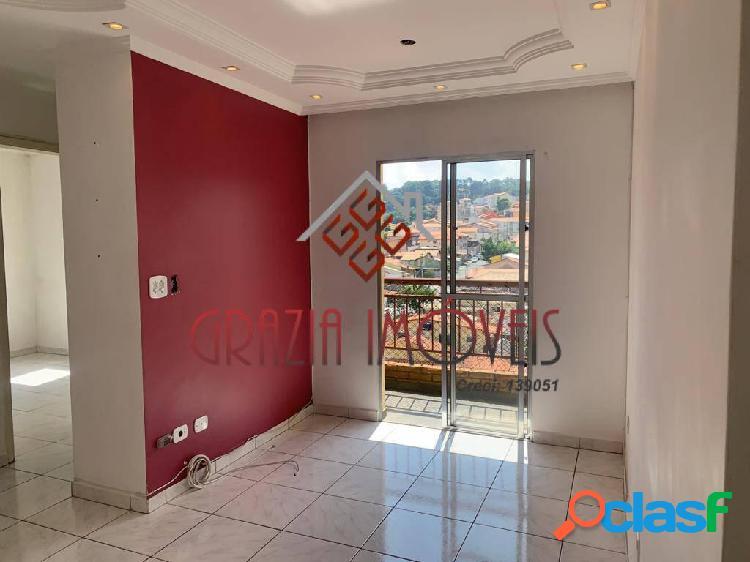 Apartamento 54m², 2 dorms, sacada, 1 vaga no jd. américa - taboão da serra