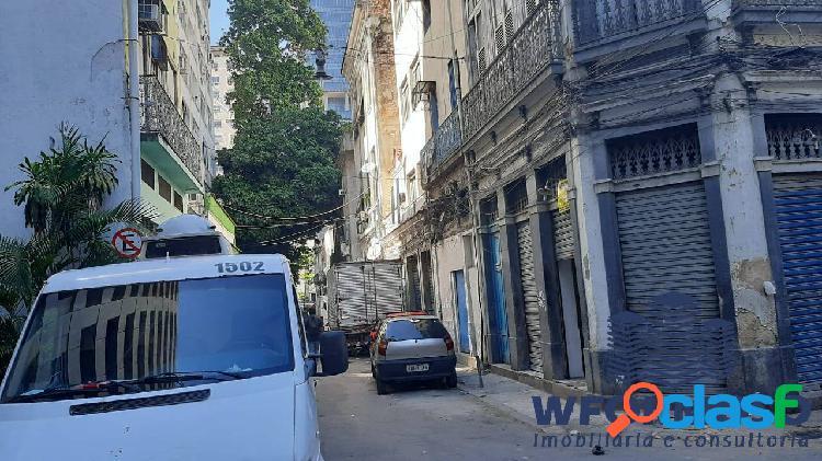Prédio comercial com sobrado à venda na rua dos andradas, centro – rj