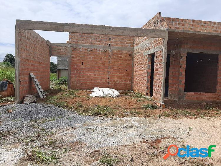 Casa no bairro santa clara em construção.
