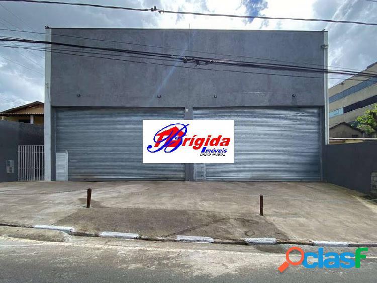Salão comercial novo no km 24 da raposo, com vista para a rodovia!