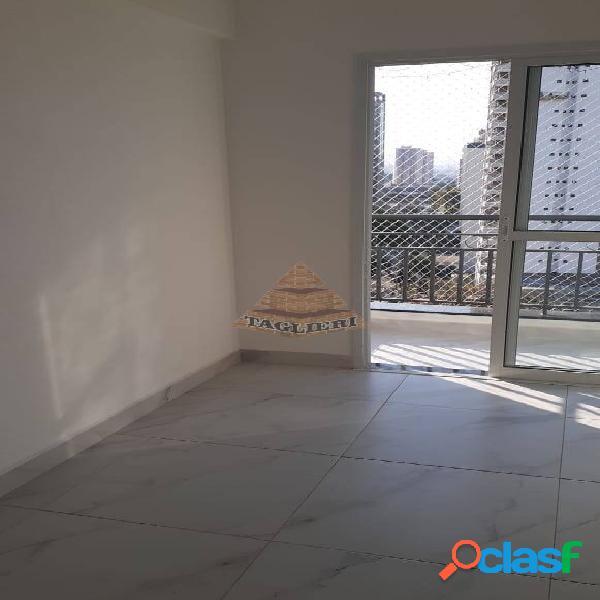 Apartamento com sacada mobiliado. tatuapé. próx metrô carrão