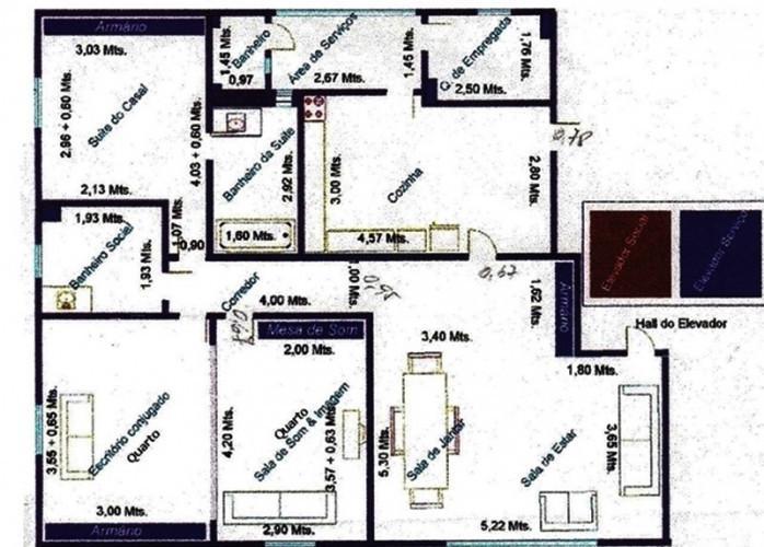 Apartamento de 3 dormitórios, próximo do metrô vila
