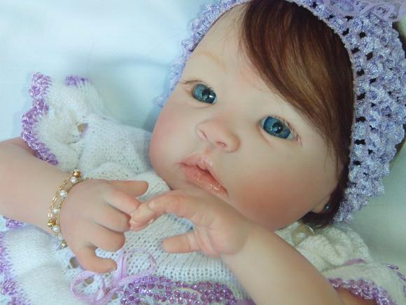 Bebê reborn maria real corpo de tecido!
