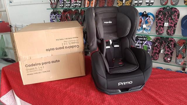 Cadeira de carro nova reclinavel 4 posicao!!! 0 ate 5 anos
