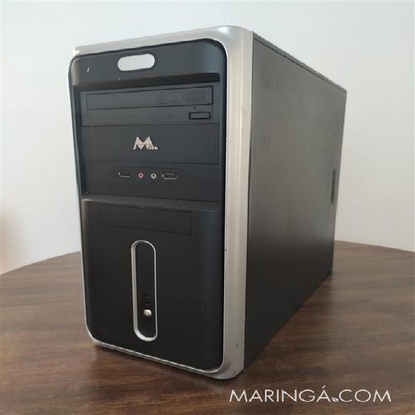 Computador desktop, 4gb de memória, ssd 120gb, windows 10