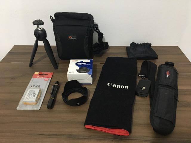 Kit de acessórios para fotografia
