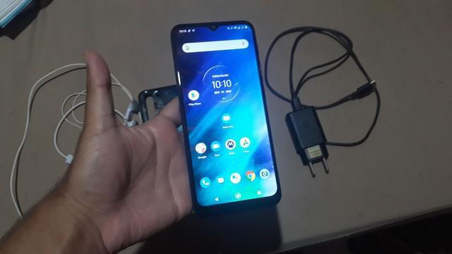 Motorola one fusion com 4gb de ram e 128gb de armazenamento
