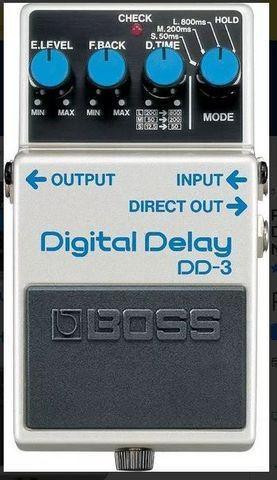 Pedal boss dd 3 digital delay