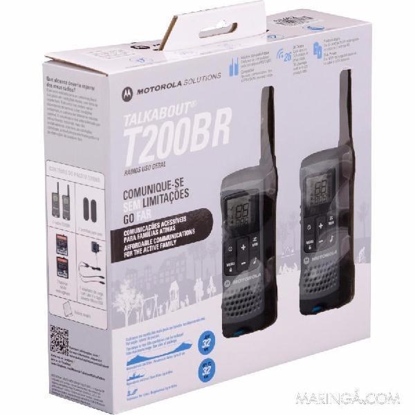 Radio de comunicação motorola-talkabout t200mc 32km