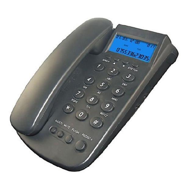 Telefone fixo ramal oho-807 cid