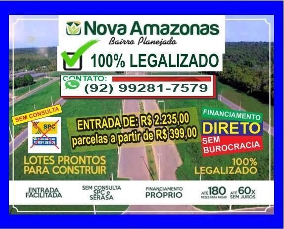 Terreno 300 m2 => ideal para morar ou investir, entrada