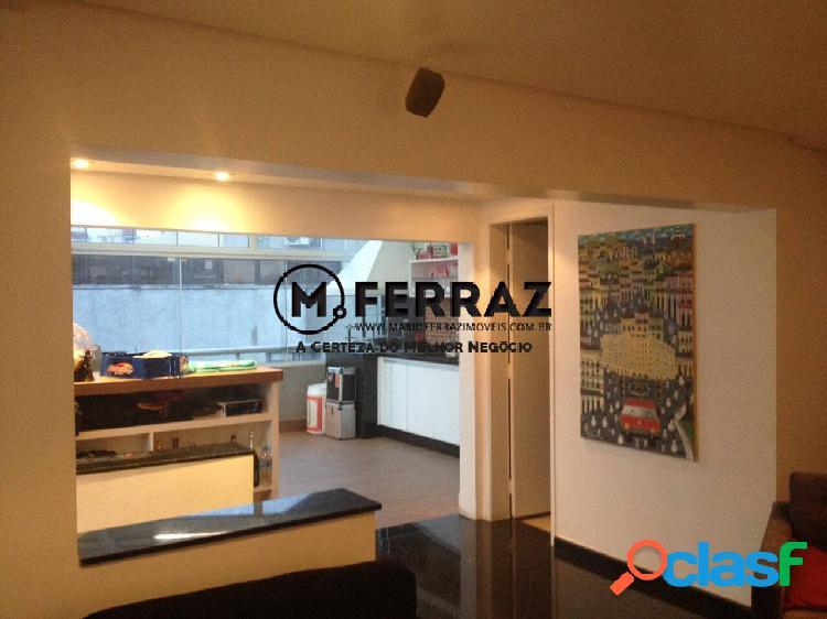 Cobertura duplex em moema com 191m² de área útil e 3 vagas de garagem!!!