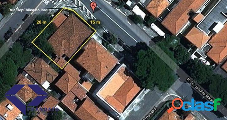 Terreno comercial para venda e locação, Campo Belo 1