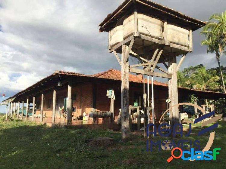 Fazenda em itiquira-mt   1.892 alq