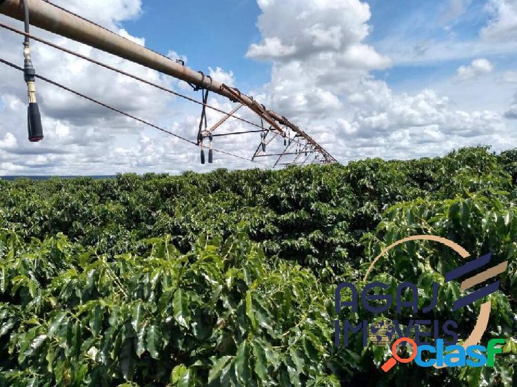 Fazenda em riachinho-mg | 145 alqueires | café irrigado