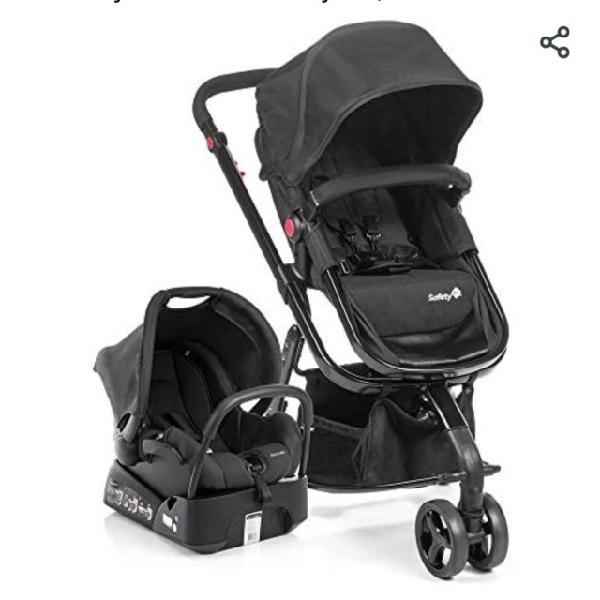 Carrinho e bebê conforto travel system mobi - safety 1