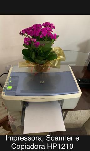 Impressora, scanner e copiadora hp psc 1210 all in one.
