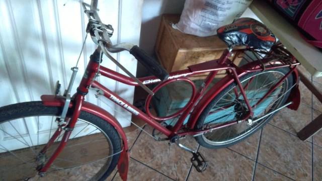 Bicicleta barra forte discovery - excelente estado