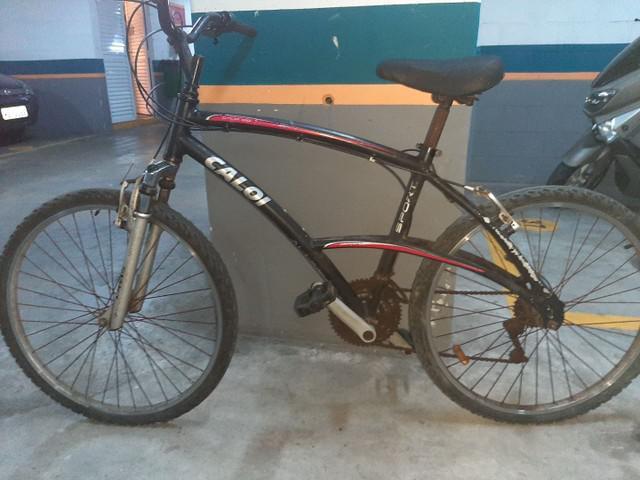 Bicicleta caloi sport alumínio
