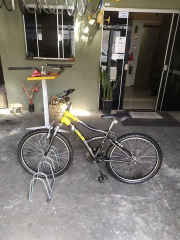 Bicicleta/bike aro 24 toda revisada só pegar e andar