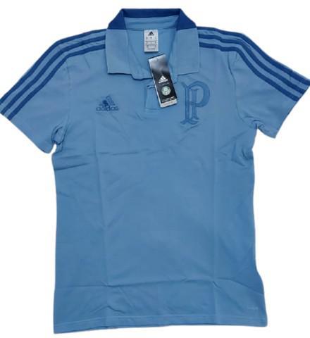 Camisa oficial polo - palmeiras - adidas - cotton masculina